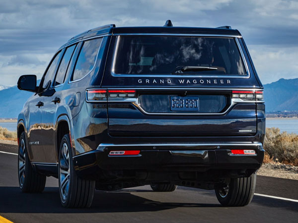 2022 Jeep Grand Wagoneer Rear Angle